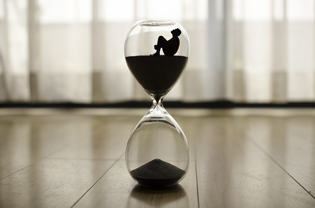 time is running away